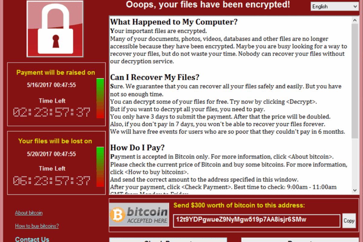 Как защититься от вируса-вымогателя WannaCry